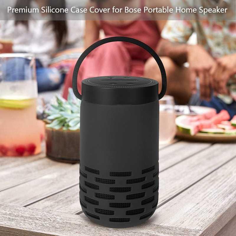 Speaker Bluetooth Shockproof Perjalanan Lembut Kolom Tahan Lama Silikon Case Pelindung Penutup untuk Bose Rumah Portabel Speaker