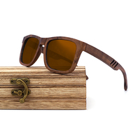 Wayfarer Full - Noyer - Marron - Coffret en bois