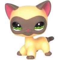 Лпс стоячки кошки Игрушки для кошек lps, редкие подставки, маленькие короткие волосы, котенок, розовый#2291, серый#5, черный#994,, коллекция фигурок для питомцев - Цвет: 1116