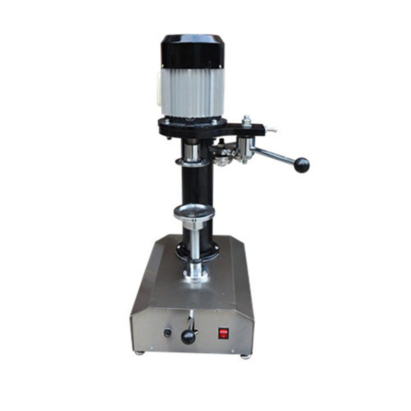 Jamielin Manual Tin Can Jar Sealing Machine Iron Cover Sealer PET Plastic Can Capping  Round Plastic Paper Iron Steel