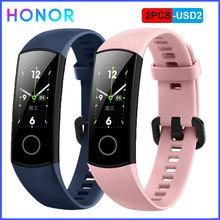 Фитнес браслет HONOR Band 4, смарт часы водонепроницаемые, отслеживают активность в режиме реального времени