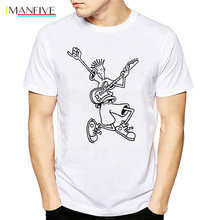 Fido Dido Pop Drink t shirt men Graphic cool summer tops tee homme tumblr funny casual tshirt male punk print t-shirts