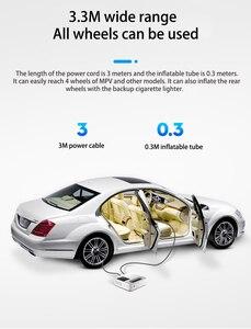 Image 4 - EAFC Mini pompe à Air pour roues de voiture, système de gonflage électrique Intelligent, 12V