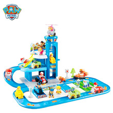 Paw patrol toy set action character track car paw Patrulla Canina Juguetes anime Ryder gift