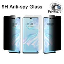 Ochraniacz ekranu dla honoru 10I 20I widok 10 20 szkło hartowane dla Huawei Honor 9 10 20 Lite Pro prywatność Anti Spy Glare tanie tanio vacusg TEMPERED GLASS Anti Glare CN (pochodzenie) Przedni Film Honor 9 lite 349906 100018975