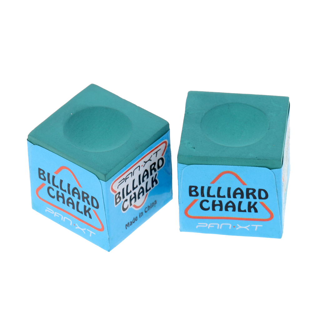 9 Pieces Billiard Chalks Premium Quality Pool Cue Chalk Cubes Billiard Accessories