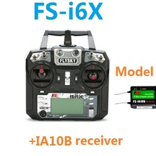 Flysky FS-i6X FS I6X 10CH 2.4GHz AFHDS 2A RC Transmitter Remote Control