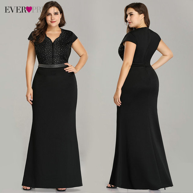 Plus Size Floral Lace Bridesmaid Dresses Ever Pretty A-Line Ruffles Sleeveless O-Neck Layer Elegant Wedding Party Gowns 2020 5