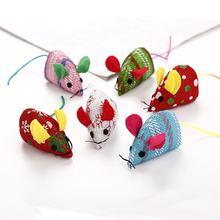 Новые игрушки для домашних животных в форме мыши кошек рождественские