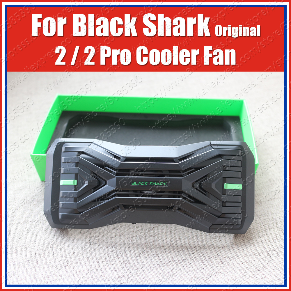 BR08 Original Black Shark 2 Pro Cooling Case Liquid Cooler Fan Cover Compatible Gamepad 2.0 H66L H66RS