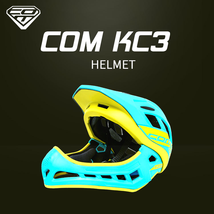 COM children's riding helmet balance bike self-cycling full helmet scooter protective gear new listing with cotton pad KC3