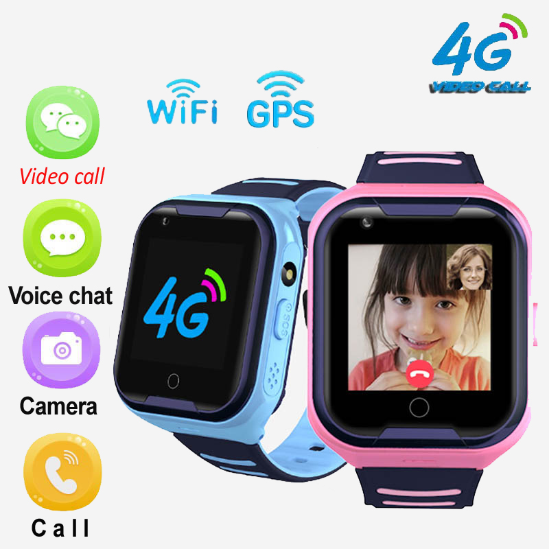 A36E 4G smart kids watch waterproof IPX7 Wifi GPS Video call Monitor Tracker clock Students Wristwatch kids children GPS watch|Smart Watches| |  - AliExpress