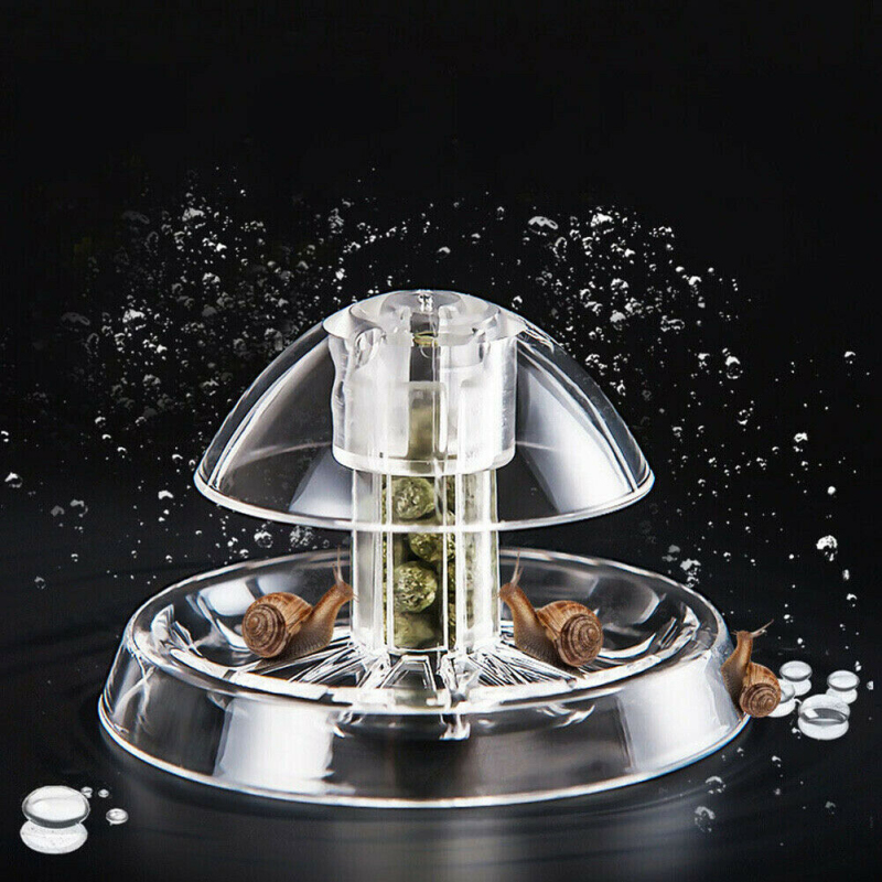 Aquarium Fish Plant Tank Clear Plastic Snail Trap Catcher Planarian Plants Pests Catch Box Leech Environment Clean Tool New