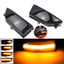 2PCS Dynamic Turn Signal Light For Ford Everest 2015 2019 Ranger T6 Raptor Wildtrak LED Rearview Mirror Indicator Blinker Lamp