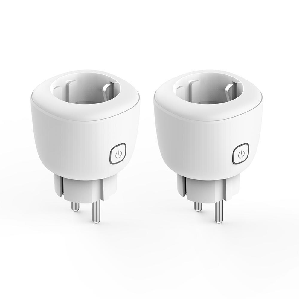 Kekin Wifi Smart Plug16a Eu Adaptor Wireless Remote Voice Control Power Energy Monitor Outlet Timer Socket For Alexa Google Home Super Offer 3a26de Cicig