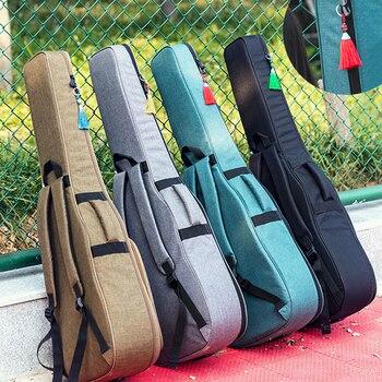 Nueva funda de guitarra 36 39 41 pulgadas, funda de transporte, mochila Oxford acústica folclórica, funda tipo bolsa con correas de hombro dobles