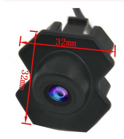 Vision nocturne CCD HD véhicule logo vue de face caméra pour Chevrolet cruze étanche voiture vue de face véhicule Logo caméra grand angle