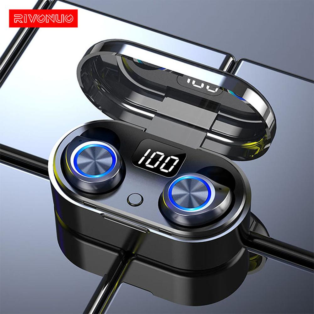 <font><b>TWS</b></font> 5.0 Touch Sensor Control Magnetic Wierless Headphone Fashionable Stereo <font><b>Mi</b></font> True Wireless Earphones image