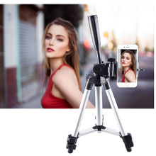 Portable Tripod Smartphone Digital Camera Flexible Tripod For All Android IOS iPhone mini Camera Tripod Phone Holder Clip Stand z09 convenient mini portable plastic tripod for camera orange
