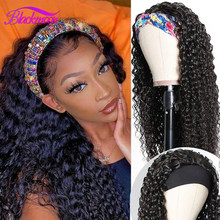 Perruque brésilienne bouclée sans colle pour femmes noires, cheveux naturels Remy, faite à la Machine, pour débutants