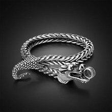 Men Shitai silver bracelet Korean male models 925 sterling silver bracelet coarse; men 925 sterling silver bracelet 925 sterling silver bracelet virgin mary male bracelet 057913w