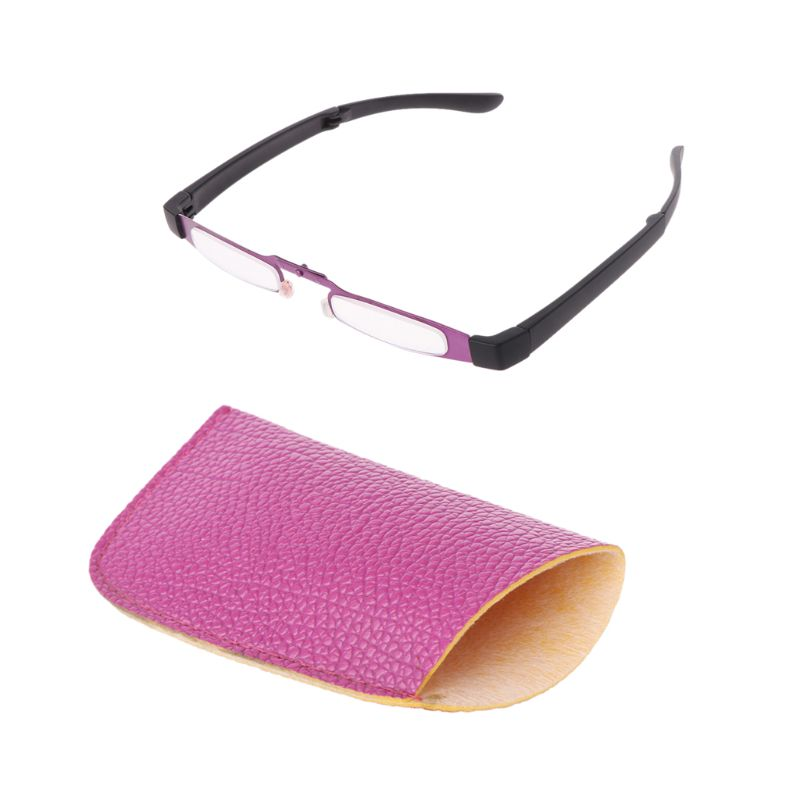Pocket Metal Unisex Foldable Reading <font><b>Glasses</b></font> Folding Spectacles Eyeglass Presbyopia Readers +<font><b>1</b></font> +<font><b>1</b></font>.<font><b>5</b></font> +2 +2.<font><b>5</b></font> +3 +3.<font><b>5</b></font> +4.0 50JB image