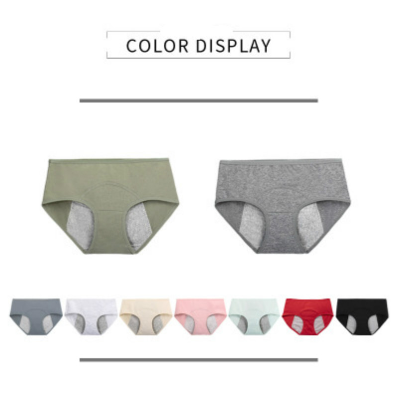 Leak Proof Menstrual   Panties   Physiological Pants Women Underwear Period Cotton Waterproof Briefs Dropshipping
