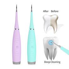 Inteligente elétrica ultra sônico scaler dental scaler dente removedor mais limpo manchas de dentes tártaro ferramenta clarear os dentes tártaro remover