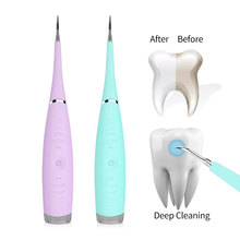 Cleaner Remove Scaler Tooth Teeth-Tartar Ultrasonic Electric Smart Whiten Stains