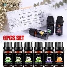 Inagla 6Pcs/Set 100% Pure Essential Oil Set Aromatherapy Dif