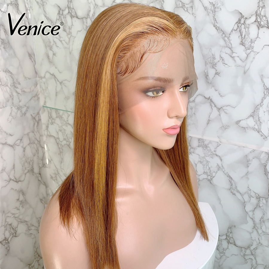 Venice Highlight  Lace Front Wigs Bleached Knots High Ratio 8