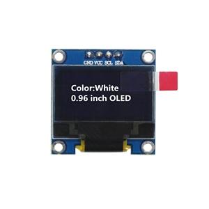 Image 3 - 1.3 Inch OLED Module White Color 128X64 OLED LCD LED Display Module 1.3 IIC I2C SPI Communicate for arduino Diy Kit
