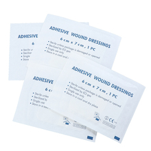 Aid-Bandage First-Aid Medical-Adhesive Gauze-Piece Hypoallergenic Wound Outdoor Large