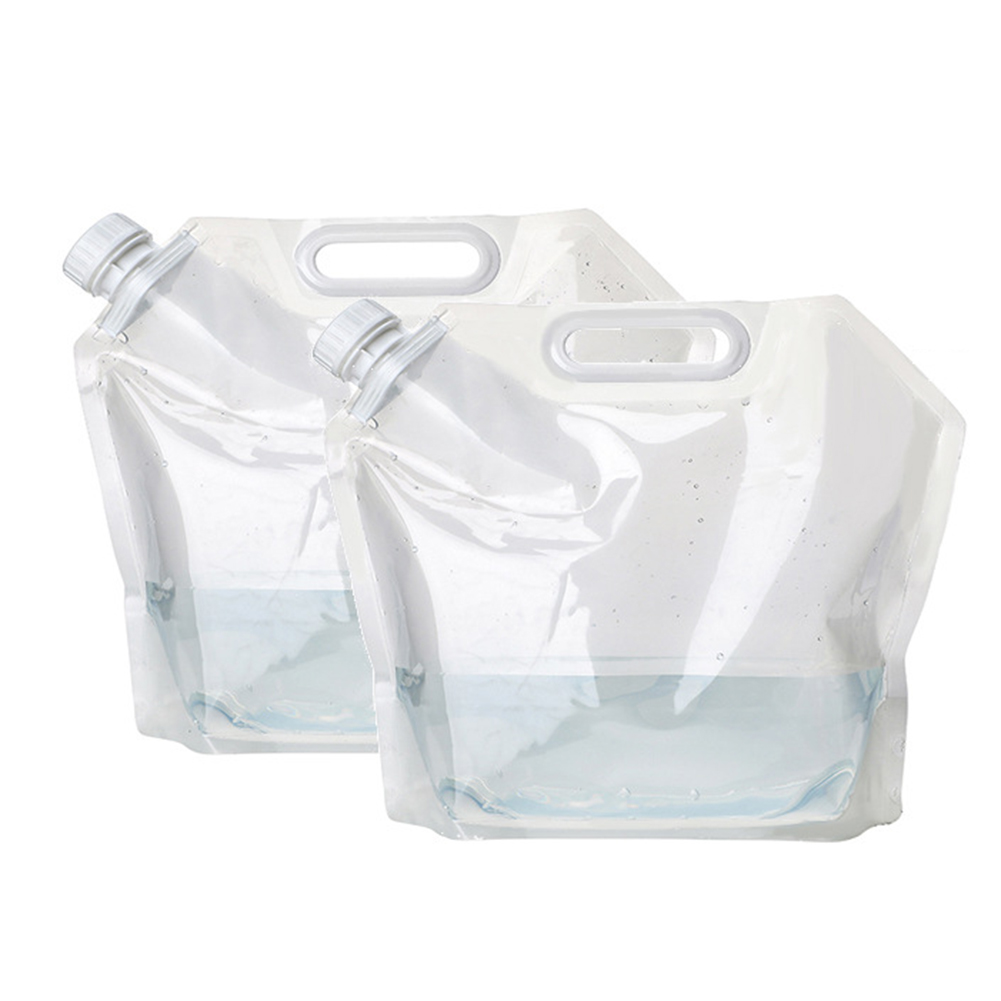 10 Litre 10l Foldable Collapsible Water Carrier Jug Bottle Camping Travel