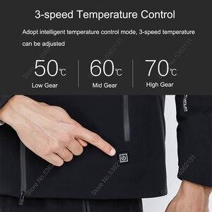 Image 3 - Youpin SUPIELD Aerogel קר חליפת חשמלי מחומם בגדים קר התנגדות מעיל Windproof עמיד למים גברים בגדי נגד קר מעיל