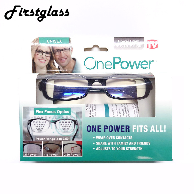 PANDER Newest Mulifocal One Power Readers High Quality Women Men Auto Adjusting Bifocal <font><b>Reading</b></font> <font><b>Glasses</b></font> +50 to +250 Dropshipping image