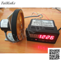 Dispositivo contador más y menos con rueda de medición codificador