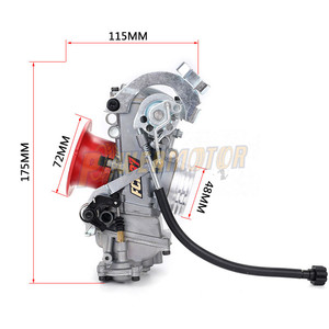 FCR 37 39 41 мм карбюратор FCR39 CRF Наклонный боковой карбюратор для CRF450/650 Husqvarna450 KTM гоночные двигатели