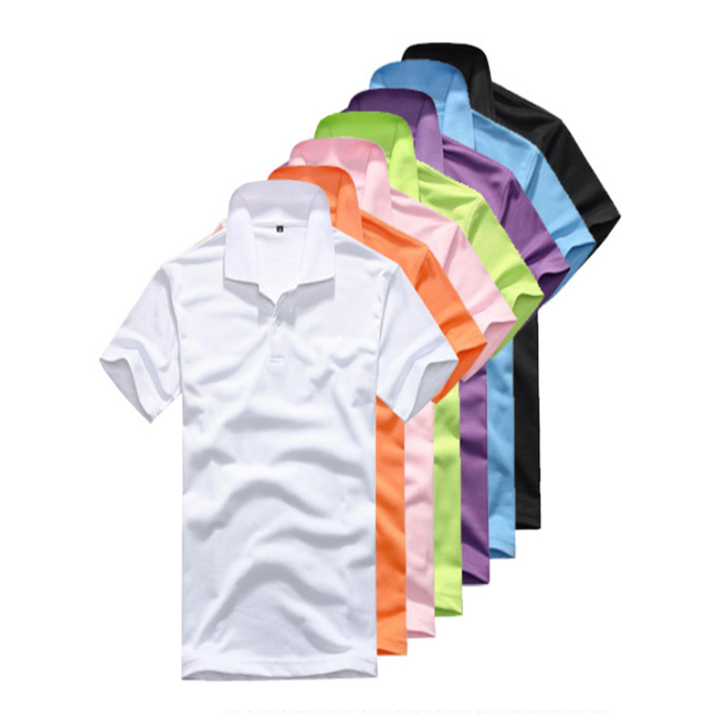 Polo-Shirt Camisa Short-Sleeve Male Casual Cotton Summer New Print Slim-Fit Men