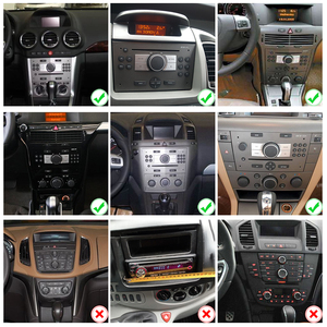 Image 5 - רכב רדיו 2 דין אנדרואיד 10 DVD GPS autoradio אודיו לאופל אסטרה H G J Antara corsa vectra Vivaro אסטרה H zafira b 2din סטריאו מולטימדיה