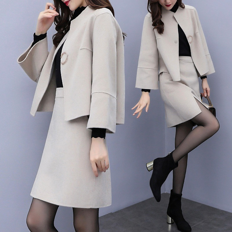 Jacket And Skirt Womens Spring Autumn Skirts Suit Ladies Designer Skirt Suits Women Casual Two Piece Set Fashion Outfit