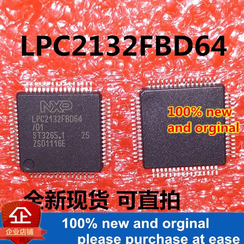 1pcs 100% New And Orginal LPC2132FBD64 LPC2132FBD64/01 LPC2132 In Stock