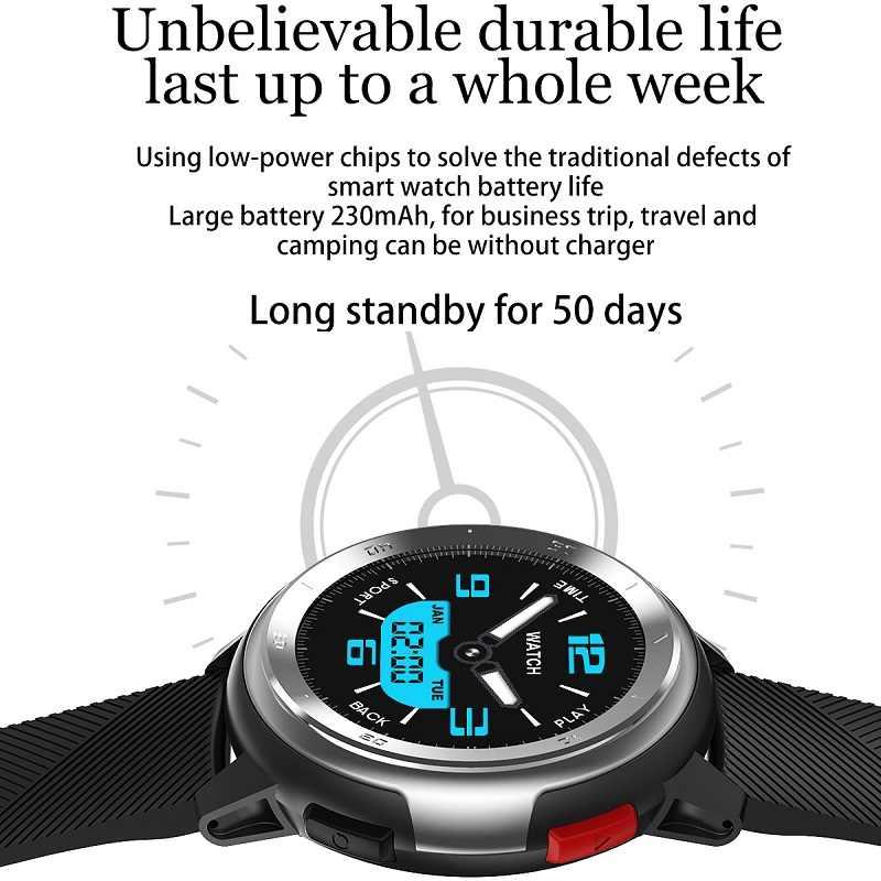 Smart Vigilanza Degli Uomini Delle Donne DTNO.1 DT68 Smartwatch Proprio Nel Corso Dei Decenni Quadranti Facce 230mAh Batteria Al Litio Frequenza Cardiaca ECG Pressione Sanguigna Meteo