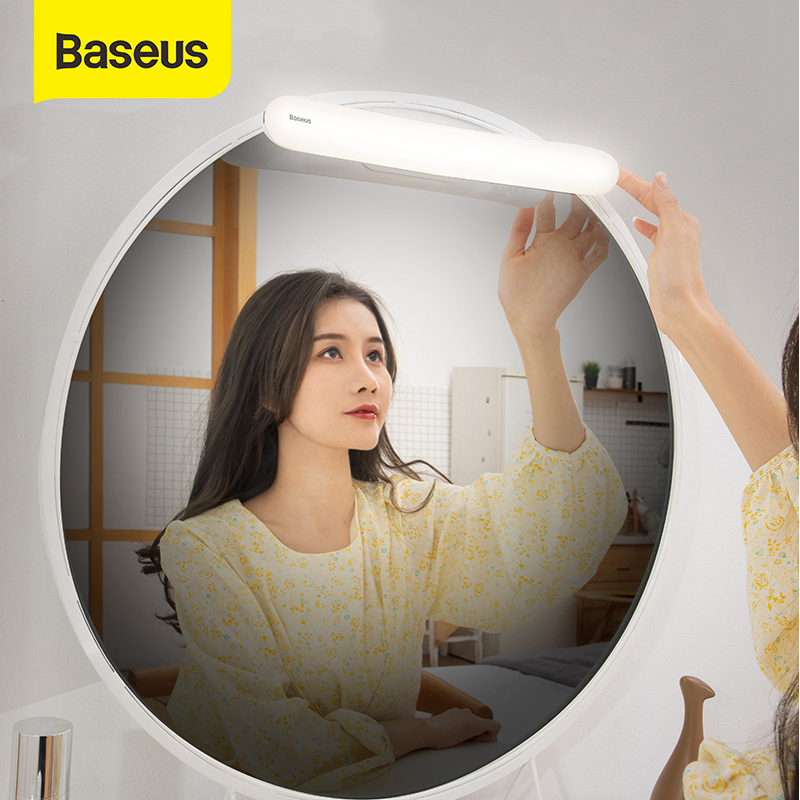 Baseus LED Vanity Mirror Lights Makeup Vanity Light LED Wall Lamp Dressing Reading Table Mirror Lamp