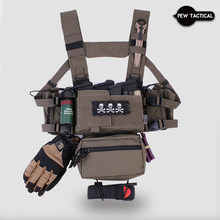 Pew Tactical MK3 Chest Rig System D3 500D Original Matte Cordura Fabric AIRSOFT