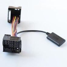 Aux adaptador de cabo áudio bluetooth para bmw e46 e39 x5 x3 z4 r50 r53 cd rádio navi
