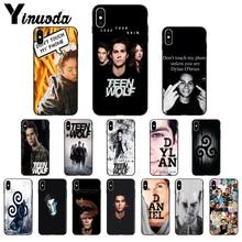 Dylan O'brien Teen Wolf Cool Luxe Soft Tpu Coque Voor Apple Iphone 11 8 7 6 6S Plus X xs Max 5 5S Se Xr 11 Pro Cover Mobiele(China)