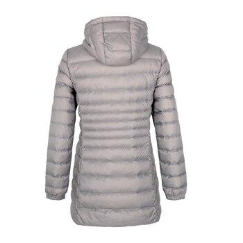 Matt Fabric 5XL 6XL Plus Long Down Jacket Women Winter Ultra Light Down Jacket Women With Hooded Down Coat Female Big Size Coats 2