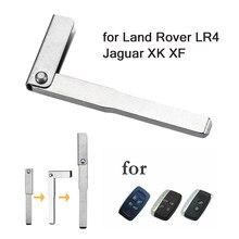 Clé intelligente de secours, Insert de lame vierge, 5x10x, pour LAND ROVER LR4 2010 – 2012 Jaguar XK XF Range Rover Sport Evoque 2010 – 2013