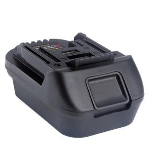 Image 3 - محول بطارية DM18M لبطارية ليثيوم أيون 18 فولت أدوات تحويل ميلووكي 18 فولت أو ديوالت بطارية ليثيوم أيون 20 فولت